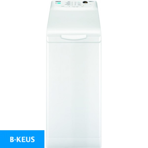 Zanussi ZWY61225NW Bovenlader wasmachine 1200 toeren Zanussi wasmachine A++