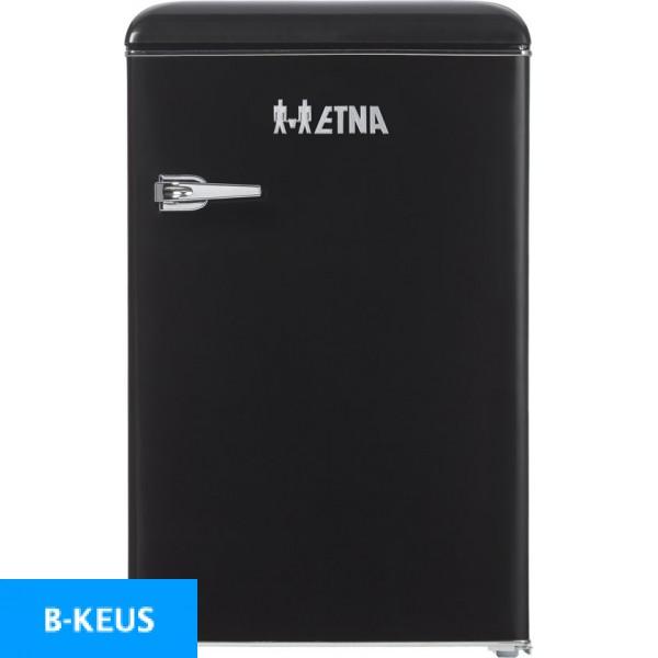 ETNA KKV5055ZWA -Retro- Tafelmodel koelkast - Zwart